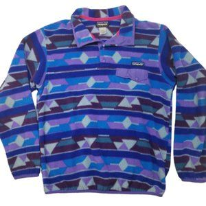 Patagonia Synchilla Fleece Pullover Tribal Aztec